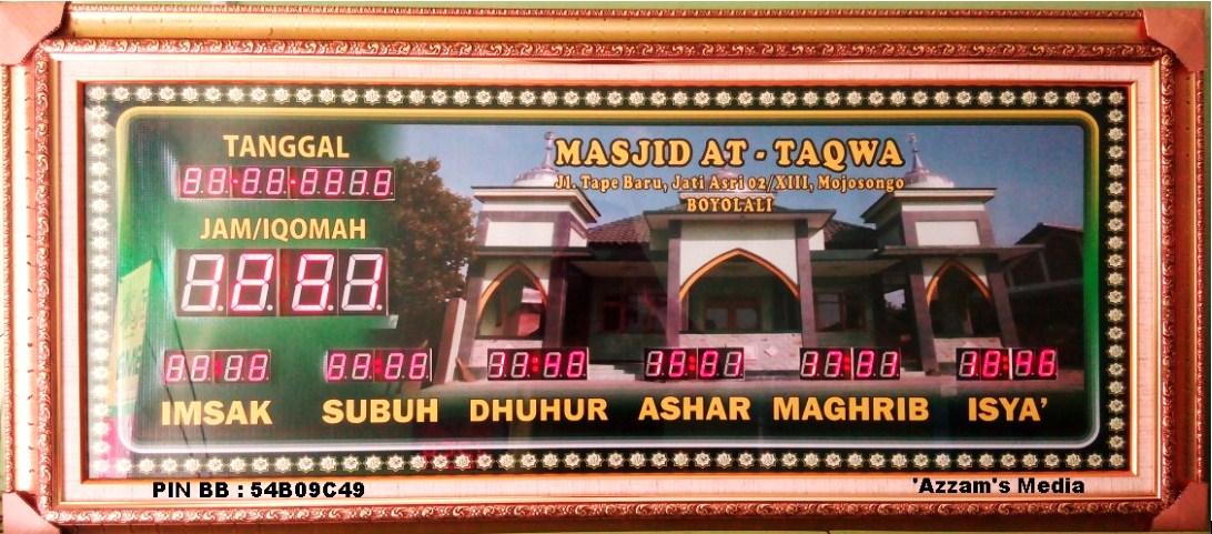 Jam-Digital-Masjid-Jadwal-Sholat-Digital-Buat-Jual-tipe-A2-Poto-Sendiri