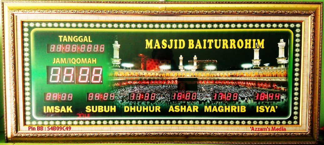 Jam-Digital-Masjid-Jadwal-Sholat-Digital-Buat-Jual-tipe-A2